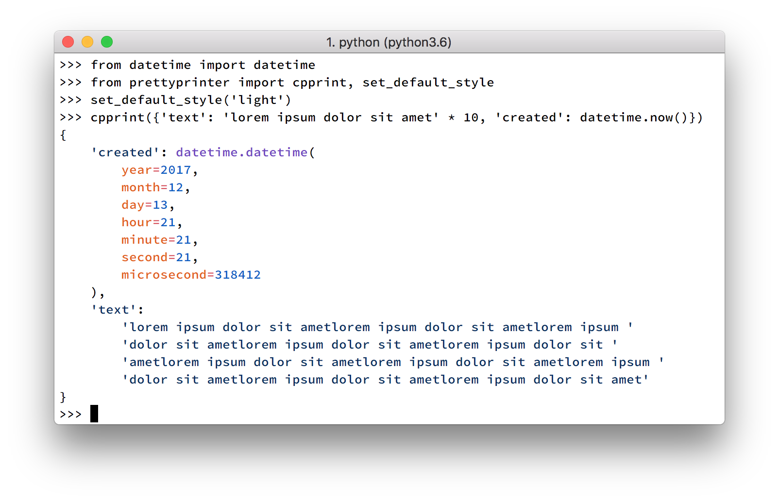 Introducing PrettyPrinter for Python